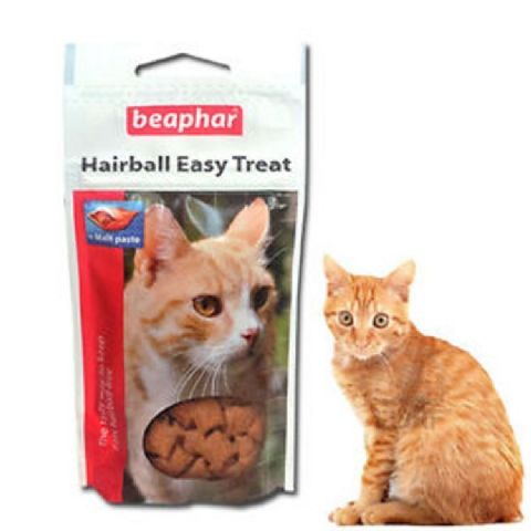 CAT TREAT HAIRBALL EASY TREAT cat kittens long hair breeds 35g - BEAPHAR